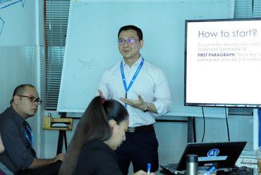 Training Session on Writing Curriculum Vitae