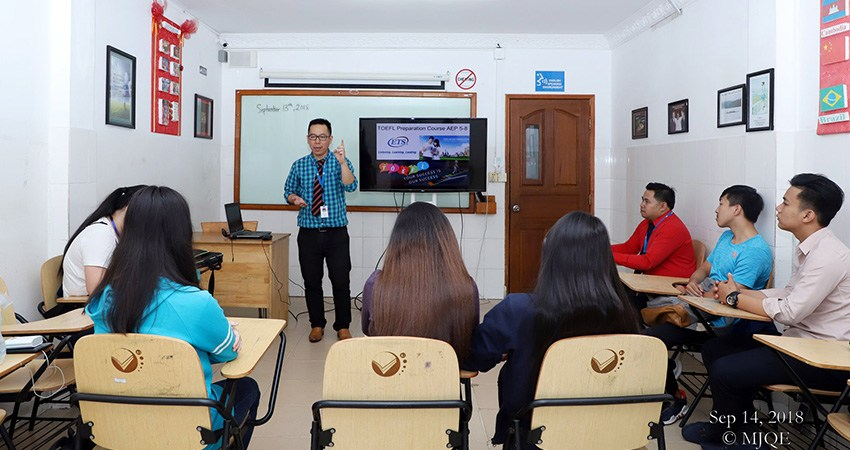 Workshop on TOEFL Preparation for AEP 4 Students