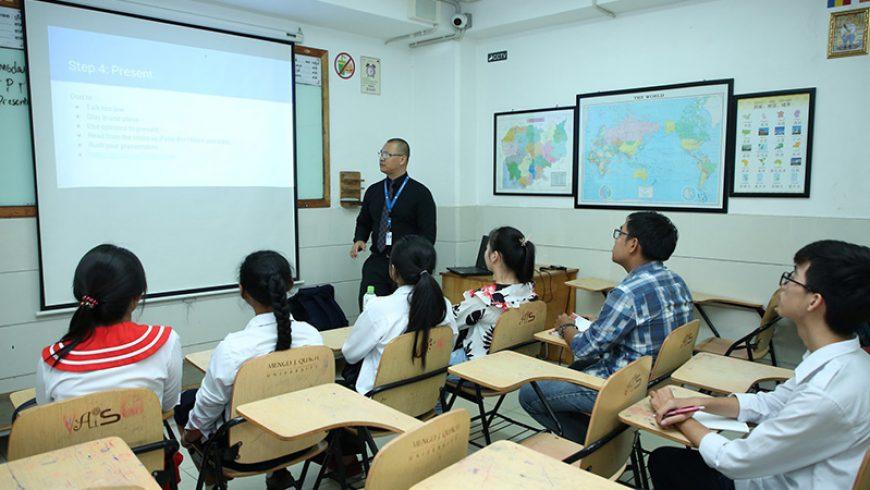 Workshop on Presentation Skills for AEP 1 Students