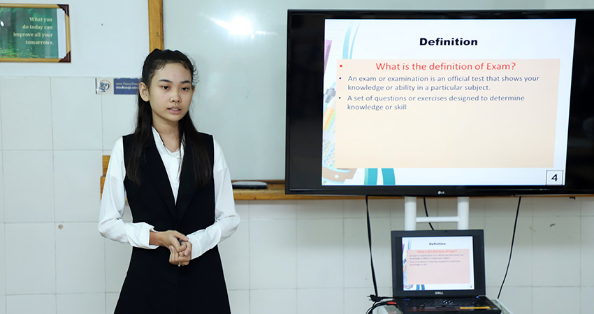 Level 8 Basic Presentation and Level 1 Interview