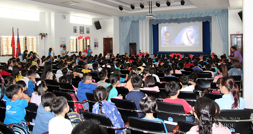 Movie session for Kid 1-4 Students