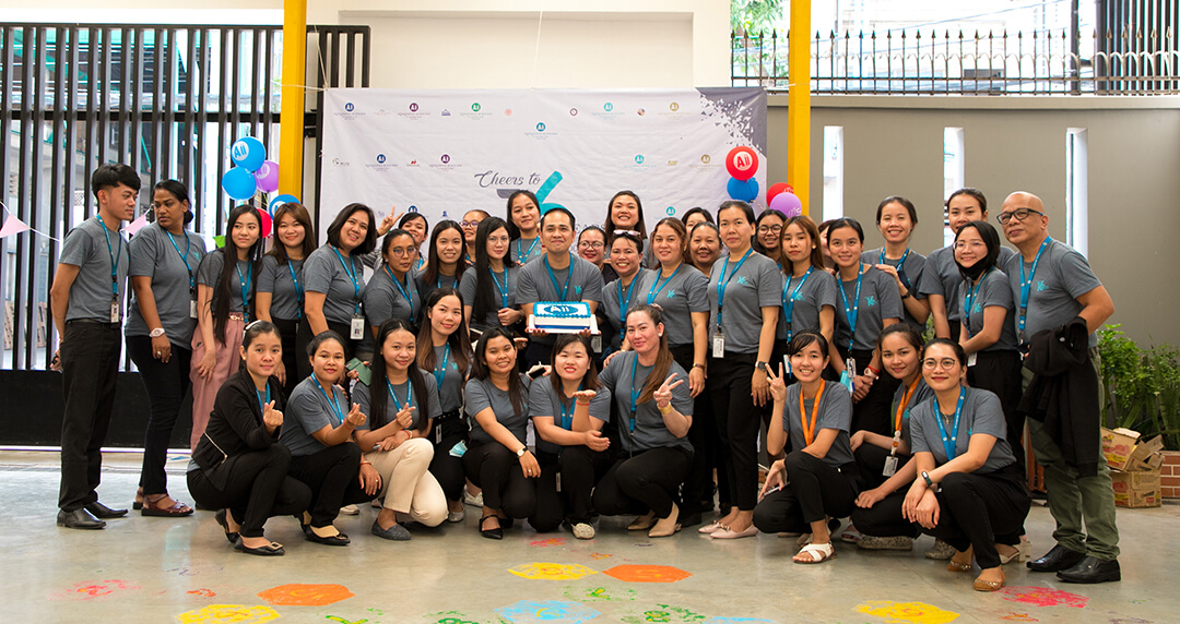 Happy 16th Anniversary MJQE and Aii Language Center